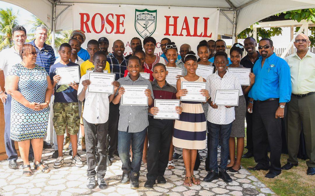 Rose Hall Presents 2017 GSAT Scholarships