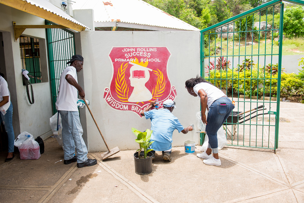 Rose Hall 2018 Labour Day Project: John Rollins Success Primary School