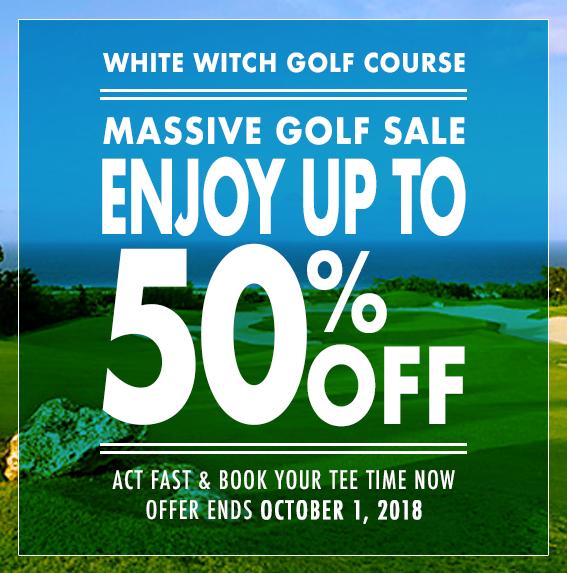 White Witch – Massive Golf Sale