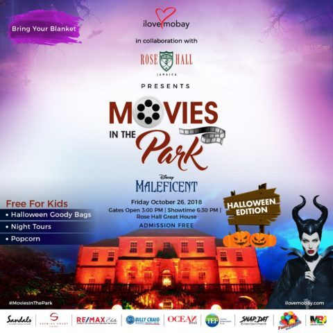 Movies In the Park – Rose Hall Great House Edition