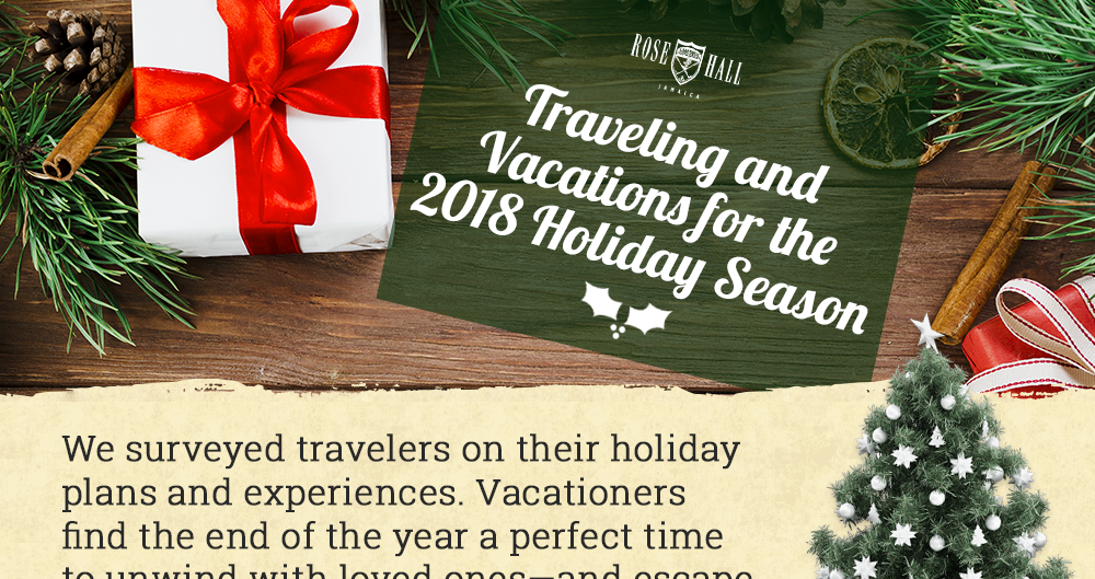 Traveling & Vacations for the 2018 Holiday Season (Infographic)
