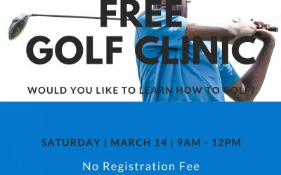 FREE GOLF LESSONS ANYONE?